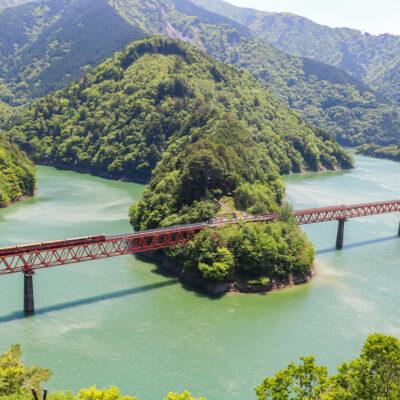 静岡市の撮影スポットを勝手に紹介します。~Part2. 奥大井湖上駅編~